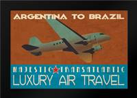 Air Travel: Framed Art Print by Giacopelli, Jason