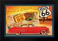 Route 66 I: Framed Art Print by Giacopelli, Jason