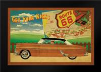 Route 66 II: Framed Art Print by Giacopelli, Jason