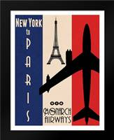 NY to Paris: Framed Art Print by Giacopelli, Jason