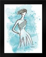 From the Runway I: Framed Art Print by Guinn, Katie