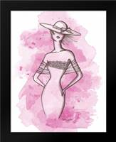 From the Runway II: Framed Art Print by Guinn, Katie