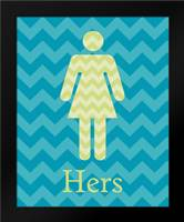 Hers: Framed Art Print by Harbick, N