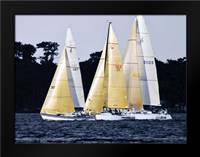 Race at Annapolis I: Framed Art Print by Hausenflock, Alan
