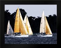 Race at Annapolis II: Framed Art Print by Hausenflock, Alan