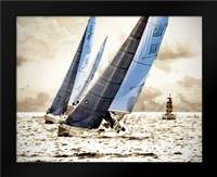 Racing Waters I: Framed Art Print by Hausenflock, Alan