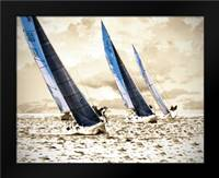 Racing Waters II: Framed Art Print by Hausenflock, Alan