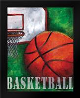 Basketball: Framed Art Print by Knold, Donna