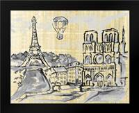 Cities II: Framed Art Print by Ferry, Margaret