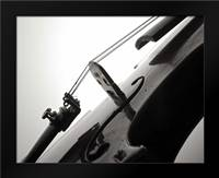 Violin I: Framed Art Print by Burkhart, Monika