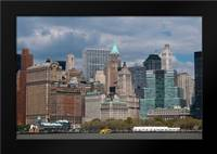 Financial District I: Framed Art Print by Berzel, Erin