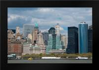 Financial District II: Framed Art Print by Berzel, Erin