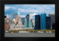Financial District III: Framed Art Print by Berzel, Erin