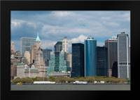 Financial District IV: Framed Art Print by Berzel, Erin