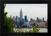 Manhattan Skyline I: Framed Art Print by Berzel, Erin