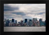 Lower Manhattan II: Framed Art Print by Berzel, Erin