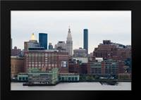NYC Pier V7 I: Framed Art Print by Berzel, Erin