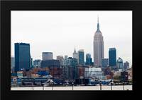 Manhattan Cityscape I: Framed Art Print by Berzel, Erin