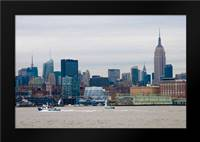 NYC Pier V7 II: Framed Art Print by Berzel, Erin