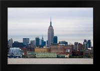 Empire State Building II: Framed Art Print by Berzel, Erin