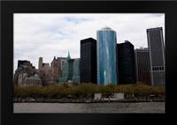 Lower Manhattan III: Framed Art Print by Berzel, Erin