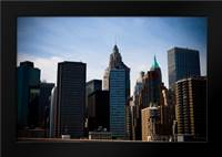 Lower Manhattan IV: Framed Art Print by Berzel, Erin