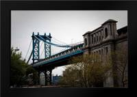 Manhattan Bridge II: Framed Art Print by Berzel, Erin