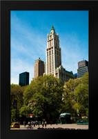 The Woolworth Building: Framed Art Print by Berzel, Erin