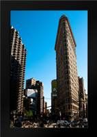 Flatiron Building: Framed Art Print by Berzel, Erin