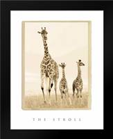 The Stroll: Framed Art Print by Parker, Susann