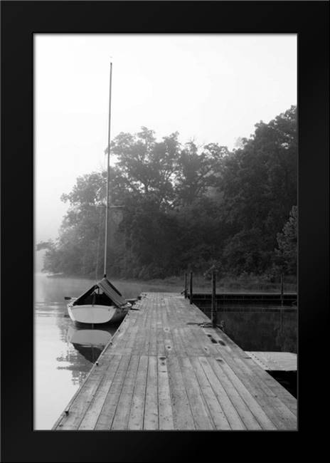 Docked II: Framed Art Print by Putman, Tammy