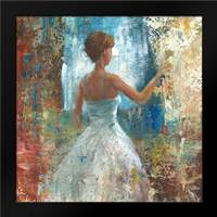 Lady in Waiting: Framed Art Print by Saunders, Michael