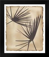Tropic Palm 2: Framed Art Print by Avant Art