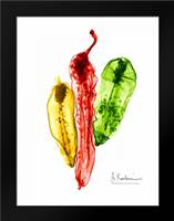 Peppers Picante: Framed Art Print by Koetsier, Albert