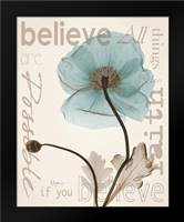 Believe Poppy: Framed Art Print by Koetsier, Albert
