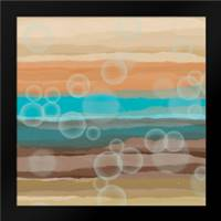 Bubbles: Framed Art Print by Saunders, Alonzo