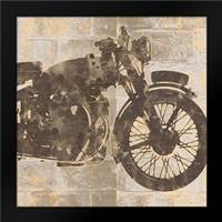 Bike 15: Framed Art Print by Saunders, Alonza