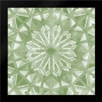 Green Tile Light 6: Framed Art Print by Saunders, Alonzo