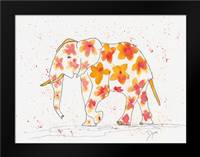Elephant Flower: Framed Art Print by Dyer, Beverly
