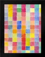 Rainbow Color Block 2: Framed Art Print by Dyer, Beverly