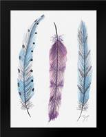 October Feathers I: Framed Art Print by Dyer, Beverly