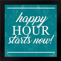Happy Hour Begins: Framed Art Print by Alvarez, Cynthia
