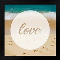 Circle Love: Framed Art Print by Alvarez, Cynthia