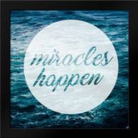 Miracles Happen: Framed Art Print by Alvarez, Cynthia