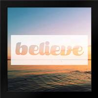 Believe: Framed Art Print by Alvarez, Cynthia
