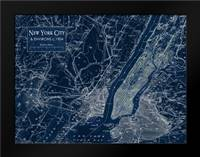 Environs NYC: Framed Art Print by Stevens, Carole