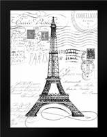 Eco Vintage Paris 1: Framed Art Print by Stevens, Carole