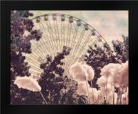 Feathery ferris: Framed Art Print by Davis Ashley