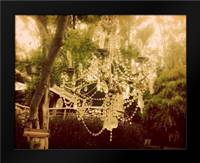 Dreamy chandelier 1: Framed Art Print by Davis Ashley