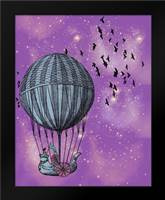 Dream Balloon: Framed Art Print by Davis Ashley